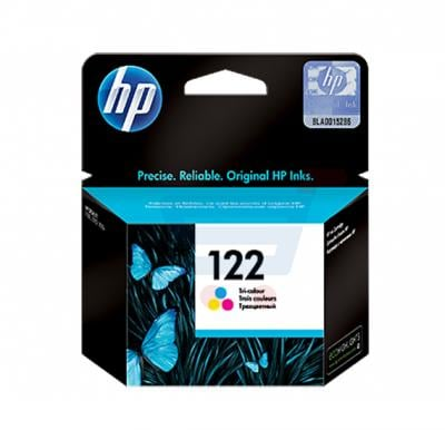 HP 122 Ink Cartridge,Tri-Color [CH562HE]